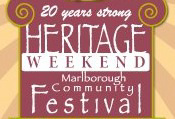 Marlborough Heritage Weekend