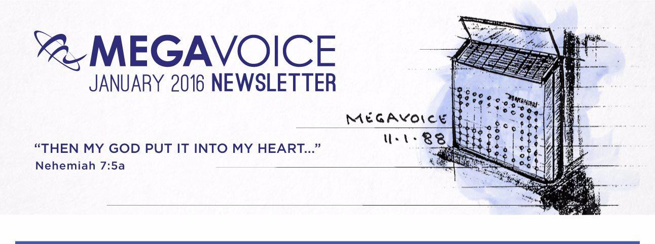 MegaVoice Audio Bible December Newsletter Header Image