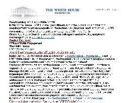 White House LGBT Affirmative Action Campaign