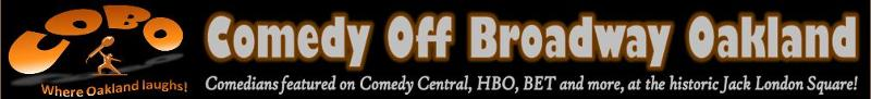 Comedy Off Broadway Oakland Header Image