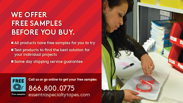 We offer free samples before you buy.
