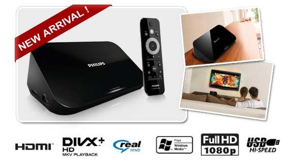 Phillips Smart Media Box HD Media Player