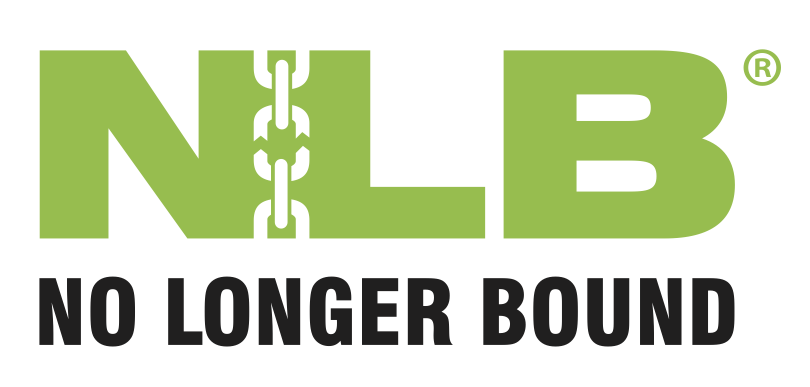 no longer bound logo