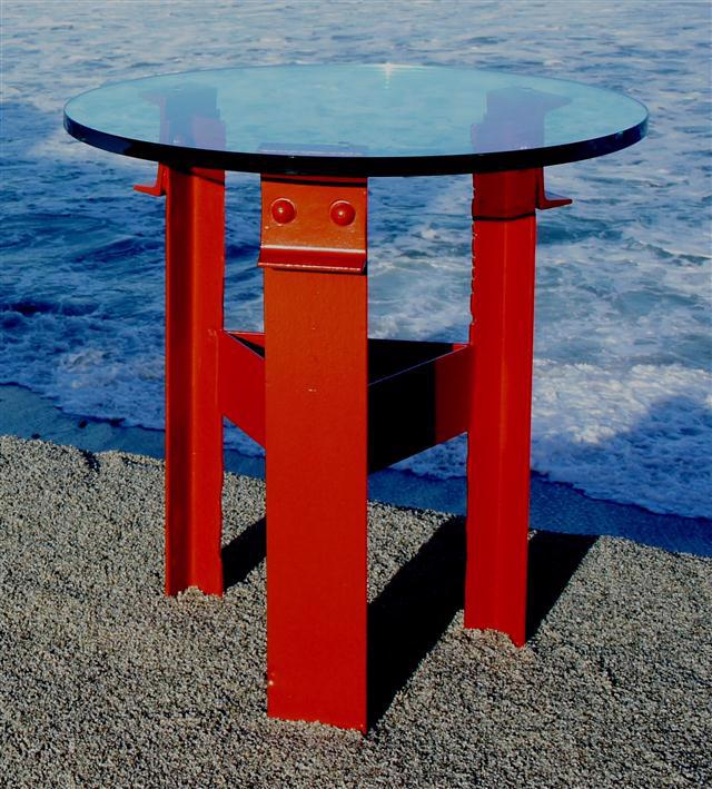 Golden Gate Bridge Side Table