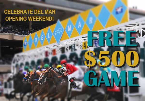 Play the FREE $500 Contest just for Santa Anita Showvivor Players!