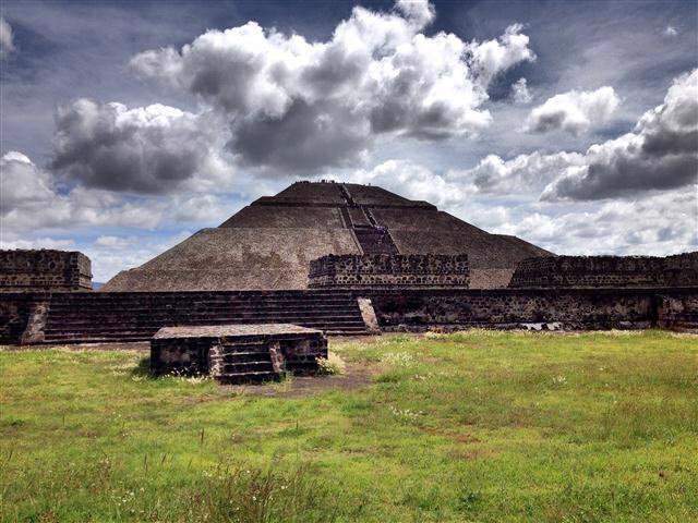 Ancient Pyramid Ruins of Mexico