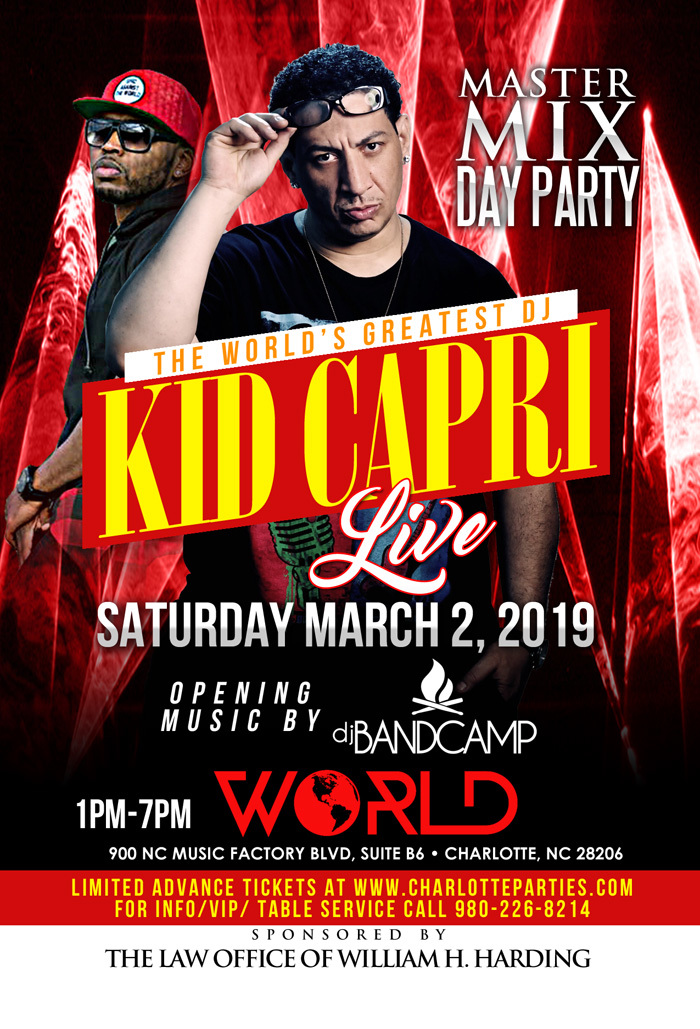 Kid Capri Master Mix Day Party World
