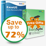 Buy Data Recovery and get file sync software for free. Save up to 72%