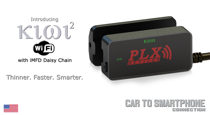 Introducing Kiwi 2 Wifi - Car to Smartphone OBDII CAN Connection
