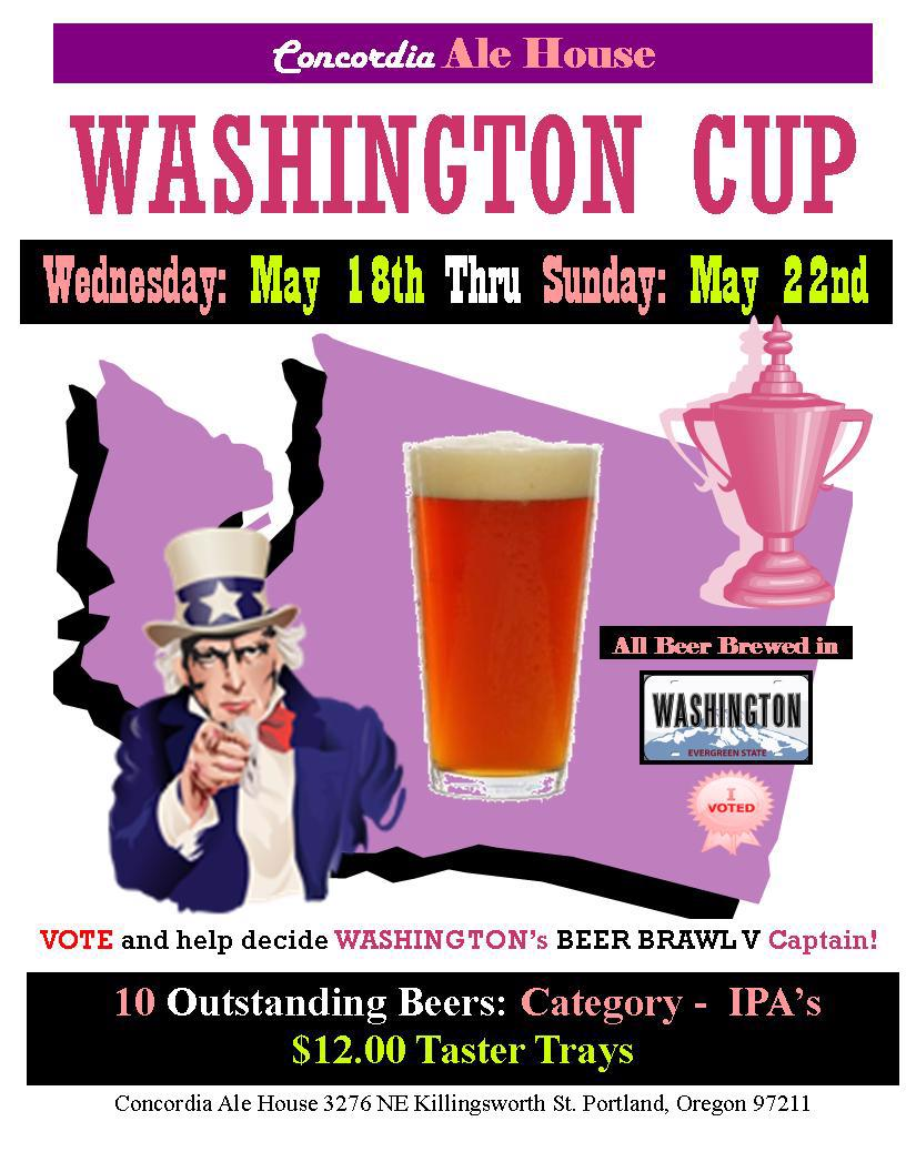 Washington Cup at Concordia Ale House