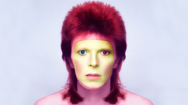 David Bowie Starman in NOT JUST A LABEL