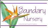 Boundary Nursery