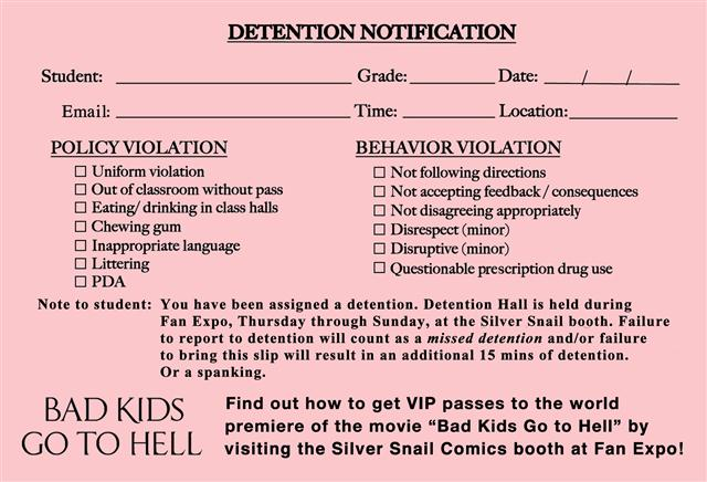 BKGtH Detention Slip