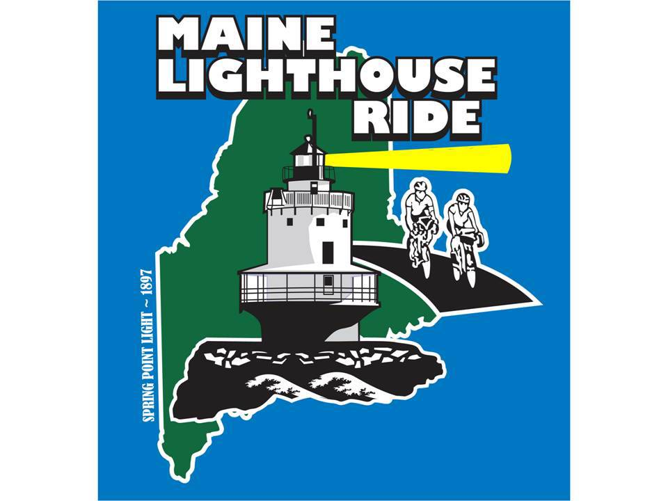 Maine Lighthouse Ride logo