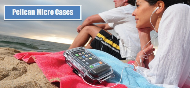 Pelican Micro Cases are perfect for protecting small valuables during summer time activities.
