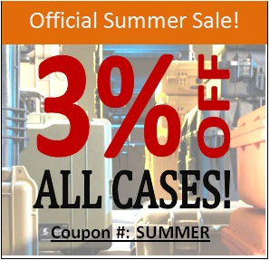 Official Summer Sale on All Pelican Cases.