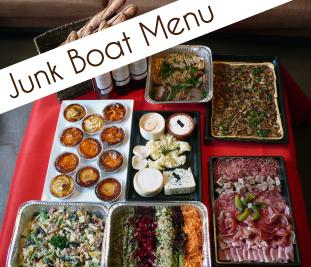 Junk Boat menu