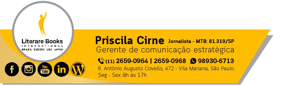 Priscila Cirne, Gerente de comunicação estratégica. fone: (11) 26590962