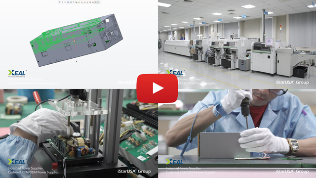 Link to video of Xeal custom & OEM/ODM power supplies