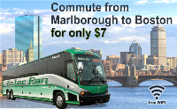 Marlborough to Boston commuter bus