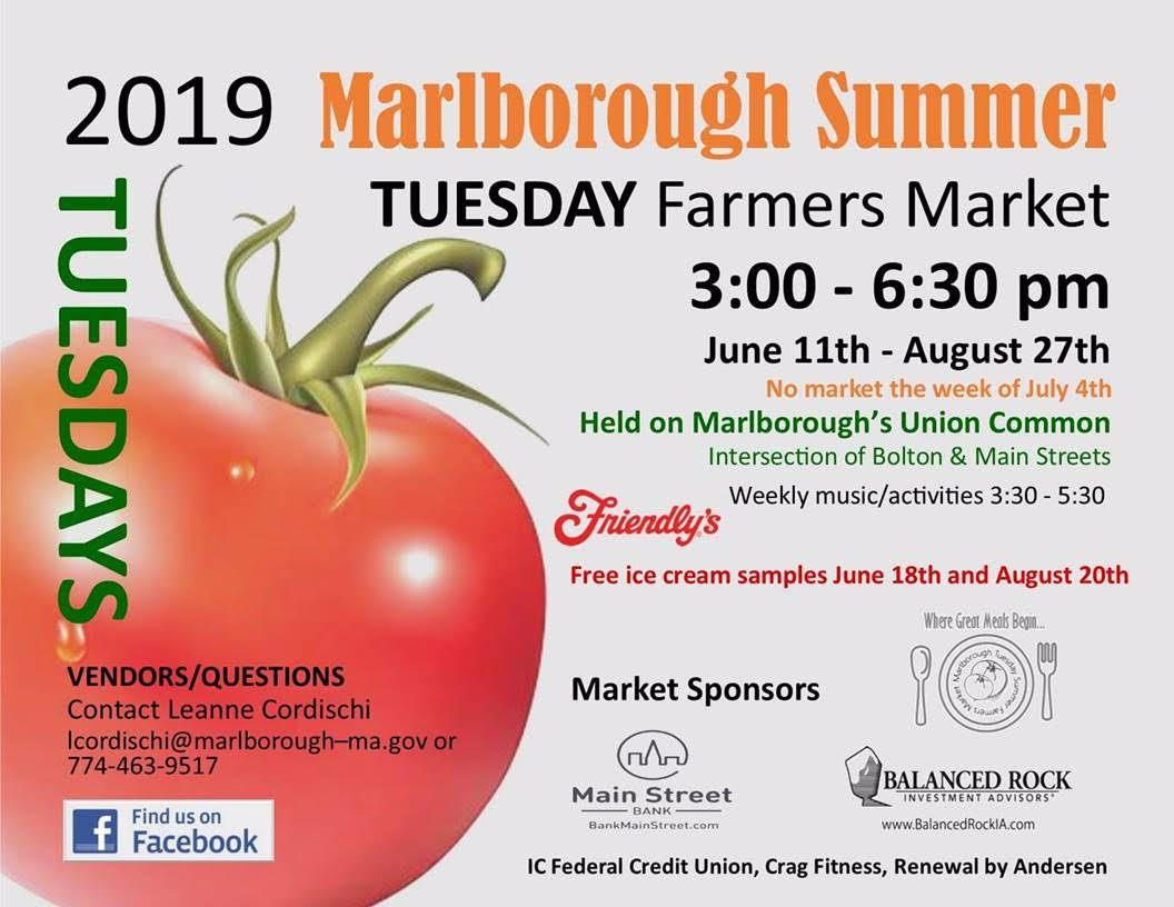 Marlborough Summer Farmers Market