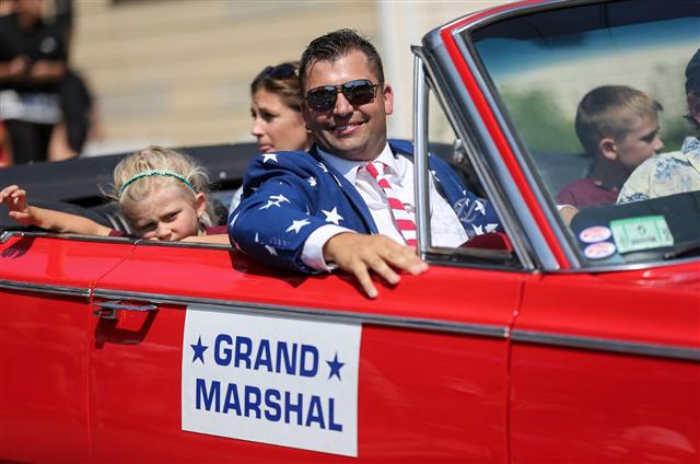 Labor Day Parade Grand Marshal