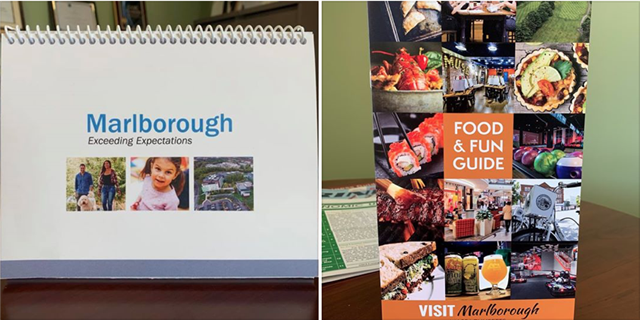 Marlborough's new flip books or Food & Fun Guides
