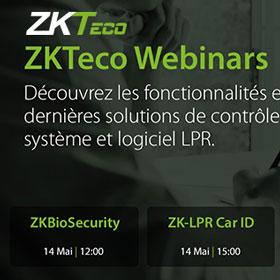 ZKTeco webinars