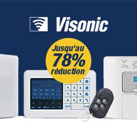 Liquidation totale du stock VISONIC!
