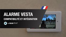 Alarme VESTA: Compatibilité et Intégration Sonnette Vidéo, Dahua et Serrure Danalock