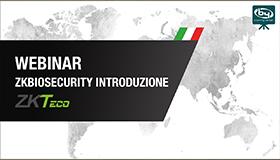 Introducción a ZKBioSecurity