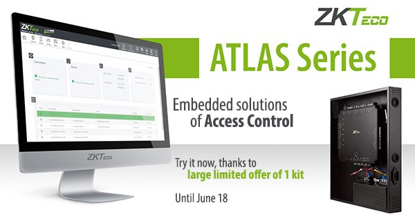 Discover the Atlas ZKTeco series: multiport controller with integrated software