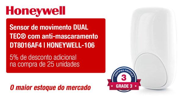 Sensor de movimento DUAL TEC® com anti-mascaramento DT8016AF4 HONEYWELL-106