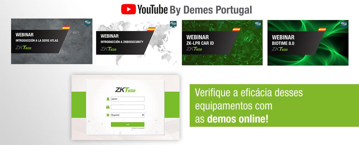 Os webinars ZKTeco estão agora disponíveis em nosso canal no YouTube!