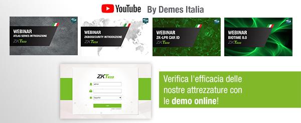 I webinar ZKTeco sono ora disponibili sul nostro canale YouTube!