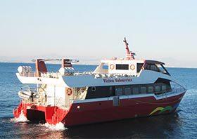 Los barco-taxi de Cruceros Kon Tiki, equipados con la alarma autónoma de VESTA