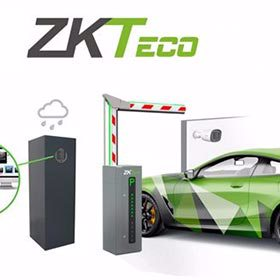 ZKTeco LPR system for advanced vehicle access control