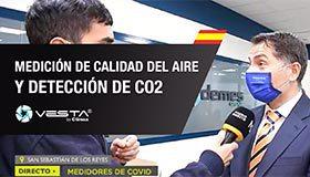 ENTREVISTA - Medidor de Calidad del Aire y CO2 de VESTA (Madrid Directo)