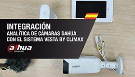 Integración de Analítica de cámaras Dahua con el Sistema VESTA
