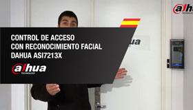Control de Acceso con reconocimiento facial DAHUA