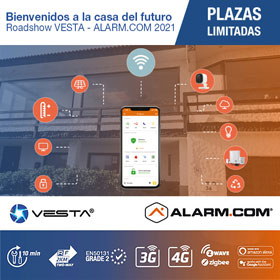 Roadshow VESTA - ALARM.COM 2021, Hotel Hilton Diagonal Mar