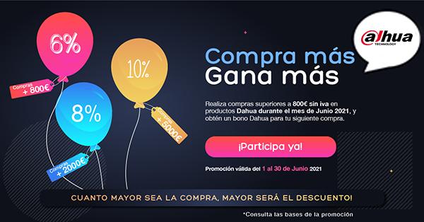 PROMO DAHUA HASTA 10% DE DESCUENTO