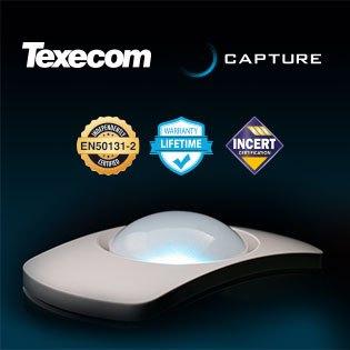Serie Capture TEXECOM: los detectores más sencillos y personalizables jamás instalados