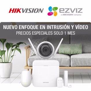 Sistema de intrusión AX PRO HIKVISION y vídeo EZVIZ: la combinación ganadora