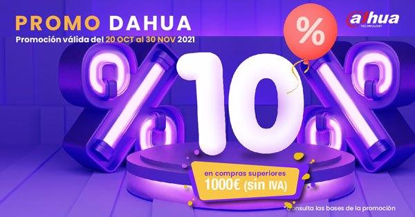 ¡10% dto. adicional en productos DAHUA!