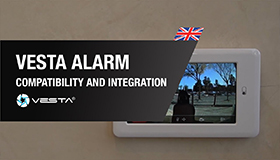 Alarma VESTA, compatibilidad e integración