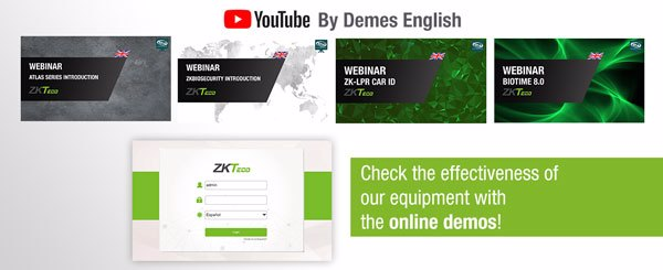 ZKTeco webinars now available on our YouTube channel!