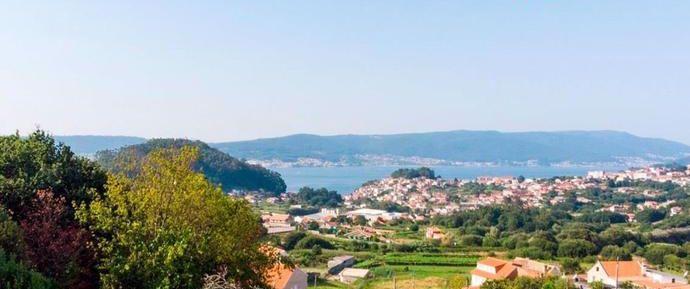 Vistas ría de Pontevedra desde Marín