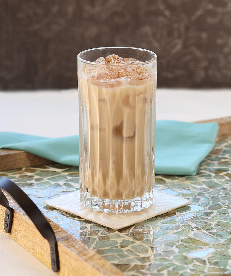 Iced Amaretto Almond Coffee