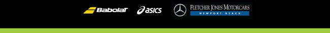 Sponsors: Babolat Asics Fletcher Jones Motorcars - Newport Beach